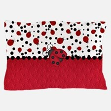 Ladybugs and Dots Pillow Case