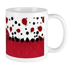 Ladybugs and Dots Mugs