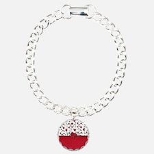 Ladybugs and Dots Bracelet