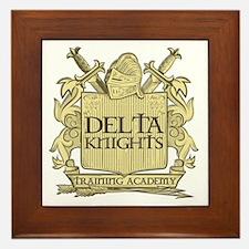 Delta Knights Framed Tile