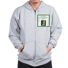 card player Zip Hoodie