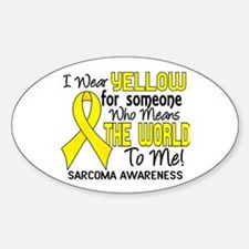 Sarcoma MeansWorldToMe2 Decal