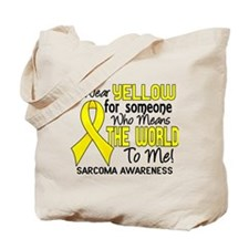 Sarcoma MeansWorldToMe2 Tote Bag