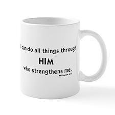 Philippians 4:13 I can do all things th Mug