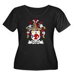 Seeger Family Crest  Women's Plus Size Scoop Neck