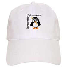 Neuroblastoma Penguin Baseball Cap