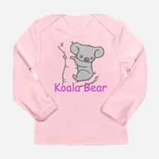 Koala Bear Long Sleeve Infant T-Shirt