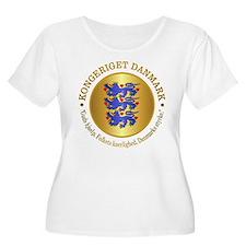 Danmark Emblem Plus Size T-Shirt