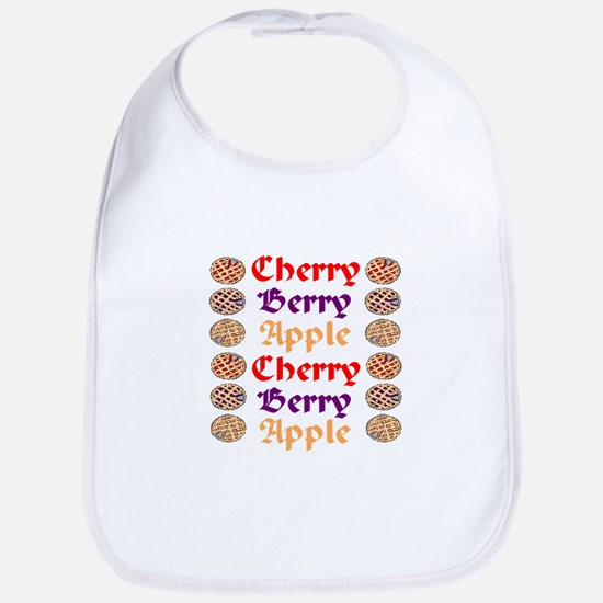 Flavors of Pie  Bib
