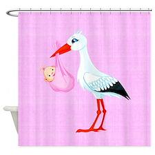 Girl Bundle of Joy Shower Curtain