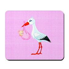 Girl Bundle of Joy Mousepad