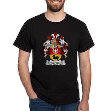 Schweitzer Family Crest  T-Shirt
