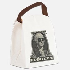 Washington Visits Florida Canvas Lunch Bag
