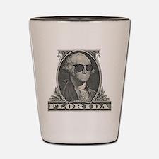 Washington Visits Florida Shot Glass