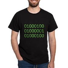 DAD in Binary Code T-Shirt