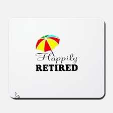 Retired Mousepad