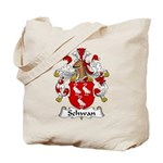 Schwan Family Crest Tote Bag
