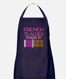 French Teacher Apron (dark)