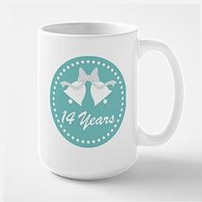14th Anniversary Wedding Bells Mug