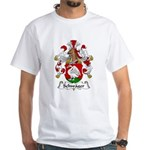 Schwager Family Crest White T-Shirt