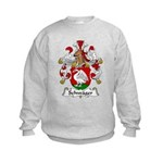 Schwager Family Crest  Kids Sweatshirt