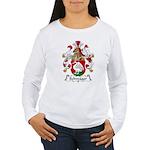 Schwager Family Crest  Women's Long Sleeve T-Shirt