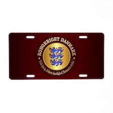 Danmark Emblem Aluminum License Plate