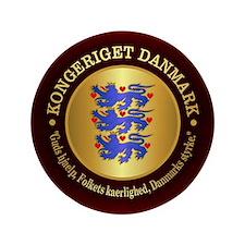 Danmark Emblem Button