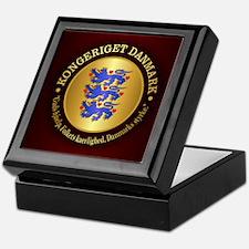 Danmark Emblem Keepsake Box