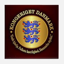 Danmark Emblem Tile Coaster