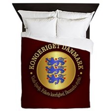 Danmark Emblem Queen Duvet