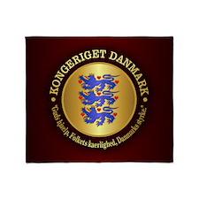 Danmark Emblem Throw Blanket