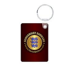 Danmark Emblem Keychains