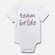 Floral Team Bride Infant Bodysuit
