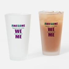Motivation business Drinking Glass