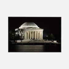 Thomas Jefferson Memorial at Night Magnets