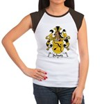 Schutz Family Crest Women's Cap Sleeve T-Shirt