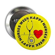 "Happy Nurses Week 2.25"" Button (10 pack)"
