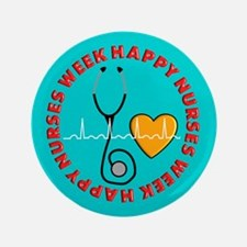 Happy Nurses Week Button