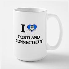 I love Portland Connecticut Mugs