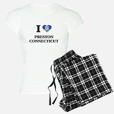 I love Preston Connecticut Pajamas