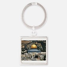 Dome of the Rock, Temple Mount, Jerusale Keychains