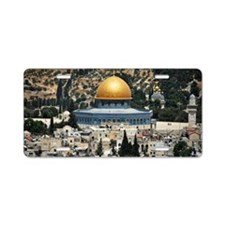 Dome of the Rock, Temple Mo Aluminum License Plate