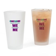 Research motivational Drinking Glass
