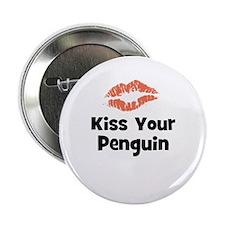Kiss Your Penguin Button