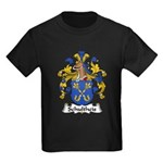 Schultheis Family Crest Kids Dark T-Shirt