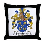 Schultheis Family Crest Throw Pillow