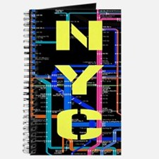 NYC subway map Journal