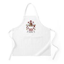 Schulte Family Crest BBQ Apron