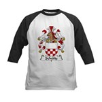Schulte Family Crest Kids Baseball Jersey
